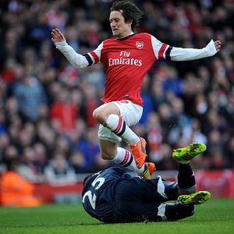 Tomas Rosicky is set to extend his stay at Arsenal