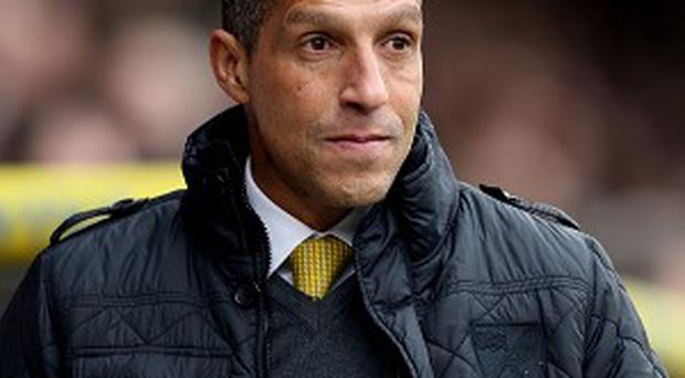 Chris Hughton is keeping his focus on the pitch