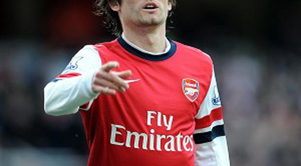 Tomas Rosicky believes Arsenal are on the cusp of winning trophies