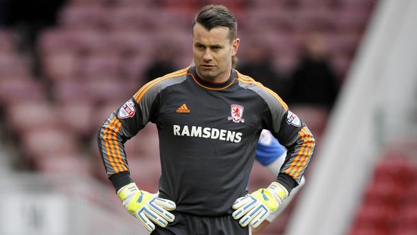 Shay Given wants another loan move away from Aston Villa