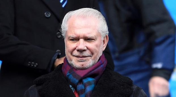 David Gold lost sleep over West Ham's poor run of form earlier in the season