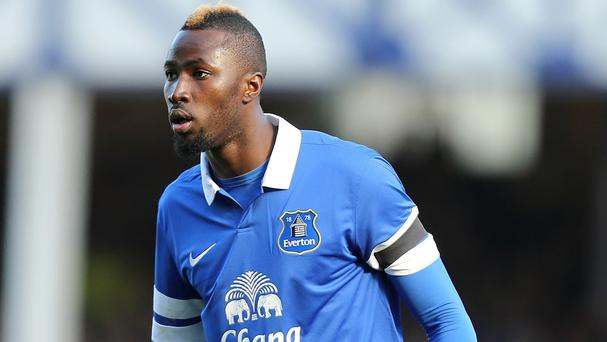 Lacina Traore has played just one game for Everton