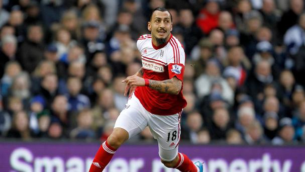 Kostas Mitroglou will not face Chelsea on Saturday