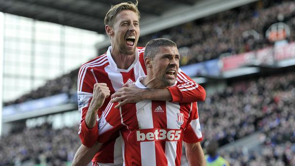 Jonathan Walters' penalty gave Stoke all three points against Arsenal