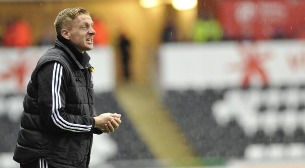Garry Monk was furious over the penalty decision