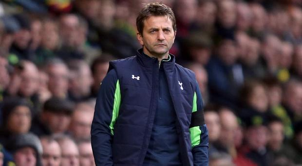 Tim Sherwood took over as Tottenham boss in December