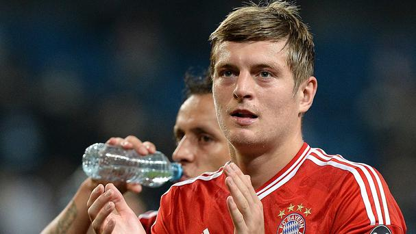 Louis Van Gaal has reportedly told United board he does not want Toni Kroos
