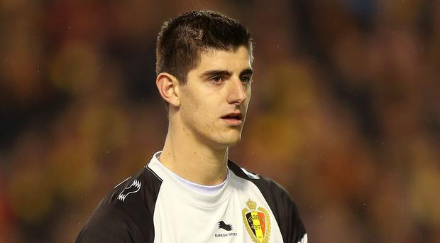 On-loan Thibaut Courtois is set to face his employers in the Champions League semi-final.