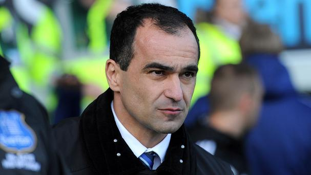 Everton boss Roberto Martinez was frustrated by an incident in Saturday's FA Cup defeat at Arsenal and wants his team to learn from it.