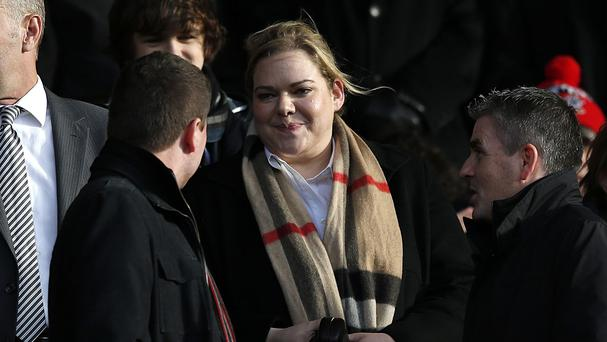 Newly-appointed Southampton chairman Ralph Krueger says owner Katharina Liebherr, centre, will not sell the club