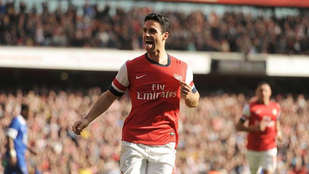 Arsenal midfielder Mikel Arteta has his sights set on FA Cup glory