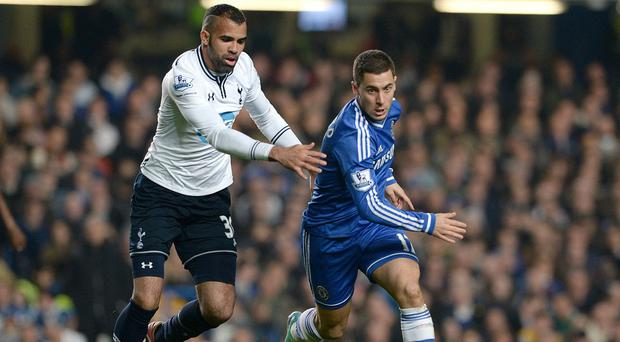 Sandro, left, revealed the Spurs players held an impromptu team meeting following their 4-0 defeat at Chelsea