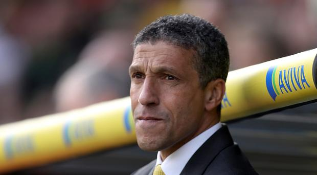 Chris Hughton, pictured, was left disappointed when Charlton sacked Chris Powell