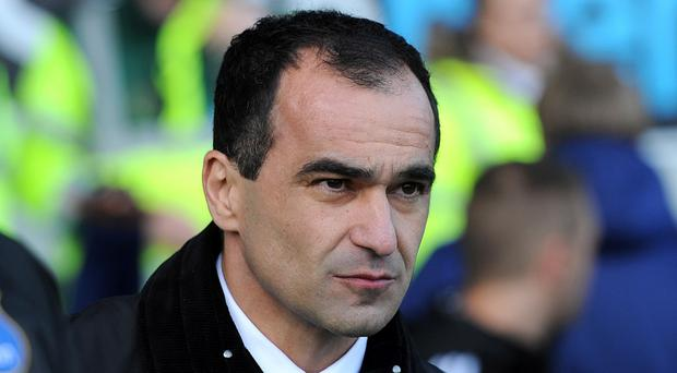 Roberto Martinez wants a big push from his side during the run-in