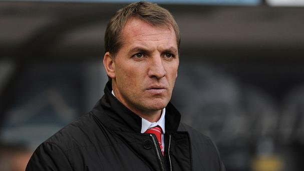 Brendan Rodgers' Liverpool side are currently second in the Premier League table