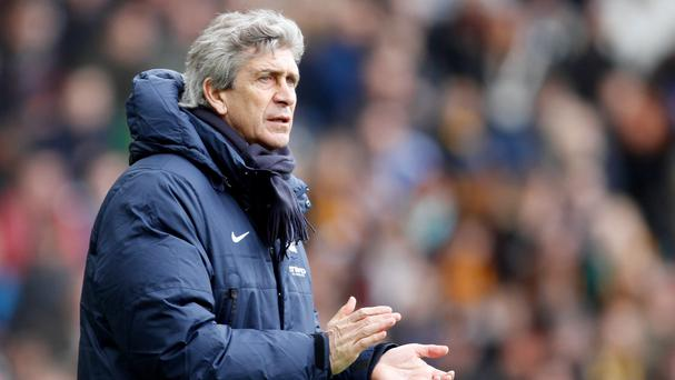 Manuel Pellegrini heaped praise on his Manchester City side