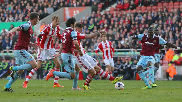 Marko Arnautovic scored his side's second goal