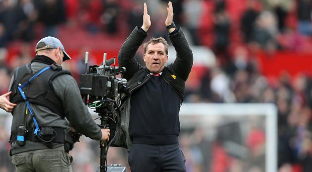 Brendan Rodgers is taking one Liverpool game at a time