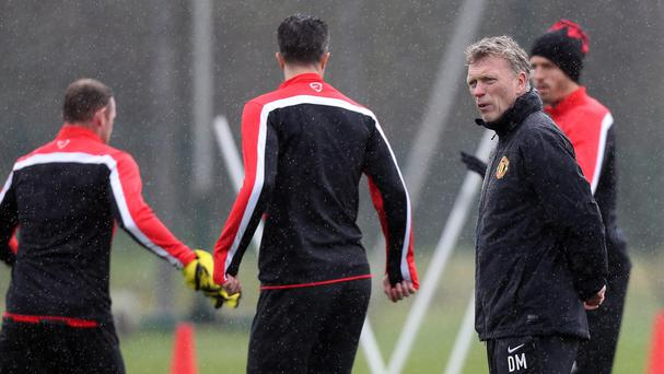 David Moyes expects to remain as Manchester United boss