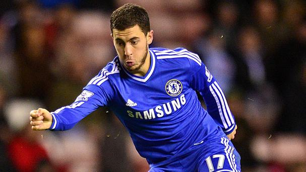 Eden Hazard could be a target for PSG at the end of the season.