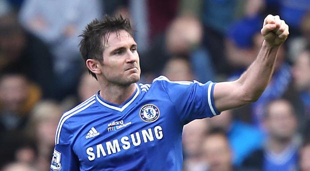 Frank Lampard is excited for Chelsea' title challenge