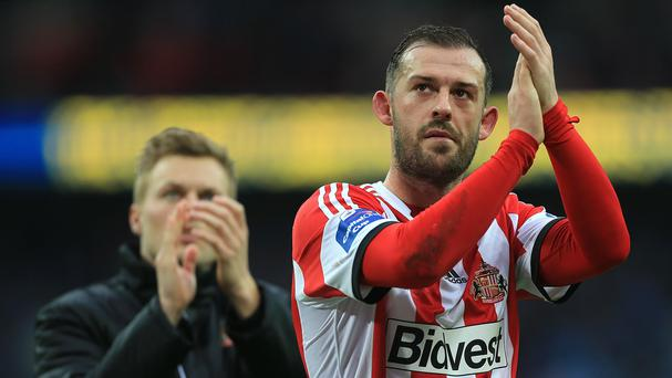 Sunderland's Steven Fletcher faces a wait to discover the extent of his ankle injury