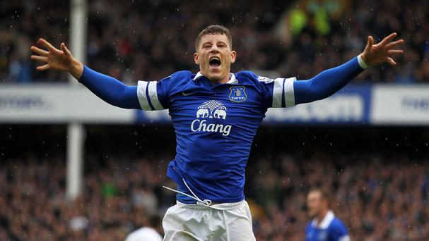 Ross Barkley won a penalty and added a goal of his own in Everton's win