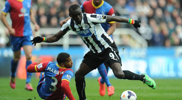 Papiss Cisse's late goal sealed a tense game at St James' Park