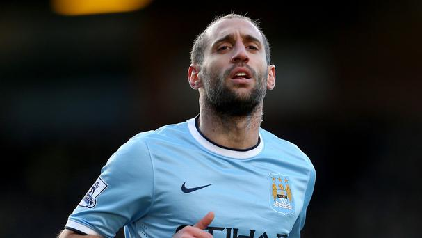 Pablo Zabaleta is hoping to win his second title at City
