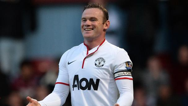 Wayne Rooney, pictured, has impressed David Moyes