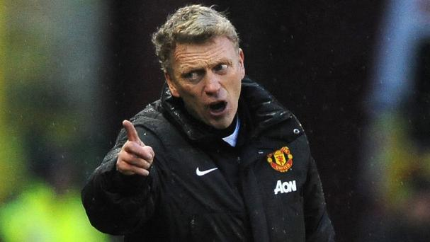 David Moyes, pictured, was not happy about the comments made by Manuel Pellegrini