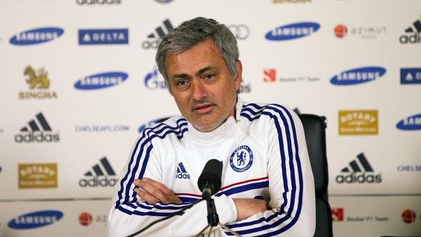 Jose Mourinho has denied an improper conduct charge
