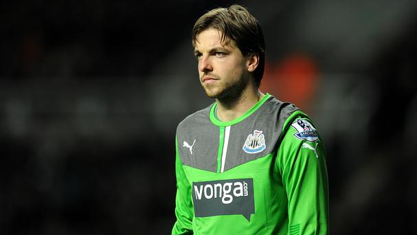 Tim Krul is currently sidelined with a knee injury