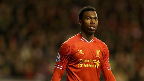 Liverpool's 20 goal striker Daniel Sturridge did not make Michael Owen's team.