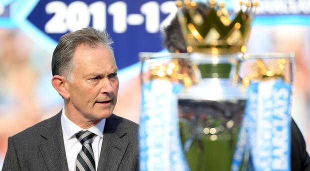 Richard Scudamore, chief executive of the Premier League, says he does not want the competition to overshadow local leagues around the world