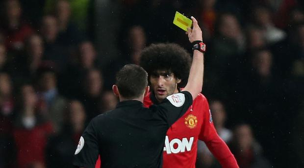 Youtube footage could land Marouane Fellaini in hot water with the FA