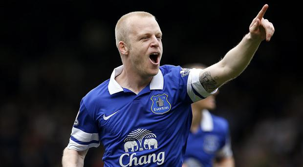 Steven Naismith has donated match tickets for Goodison Park to unemployed supporters on Merseyside