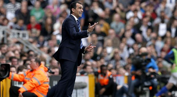 Roberto Martinez's side are closing in on the top four