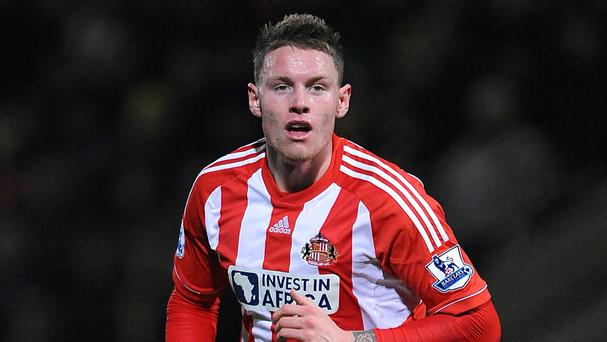 Connor Wickham was handed a rare chance to impress at Liverpool on Monday