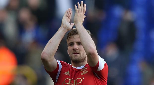 Luke Shaw is enjoying life at Southampton