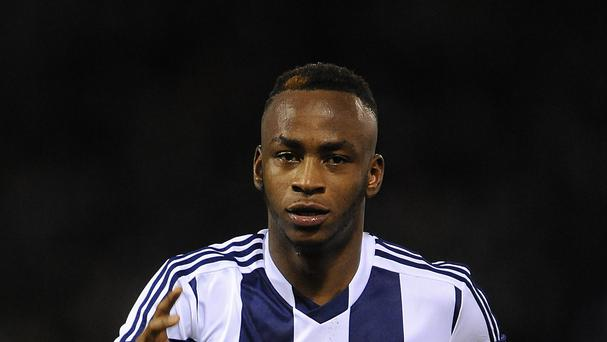 Saido Berahino set up Albion's goal but lost possession in the run up to Cardiff's equaliser