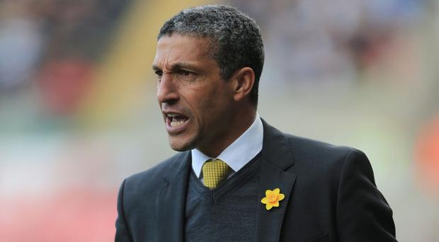 Chris Hughton knows his side need to be at their best for the remaining games