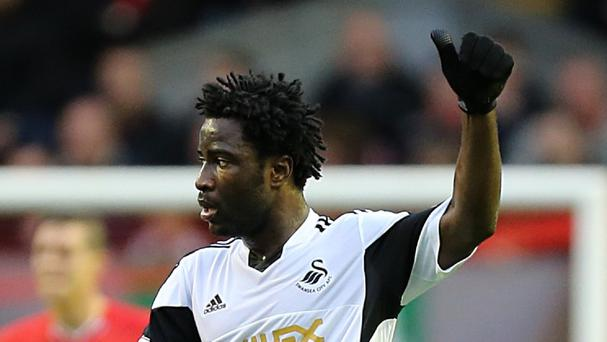 Swansea boss Garry Monk wants to keep striker Wilfried Bony