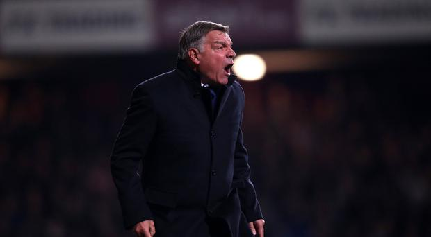 Sam Allardyce is angry his team are being criticised