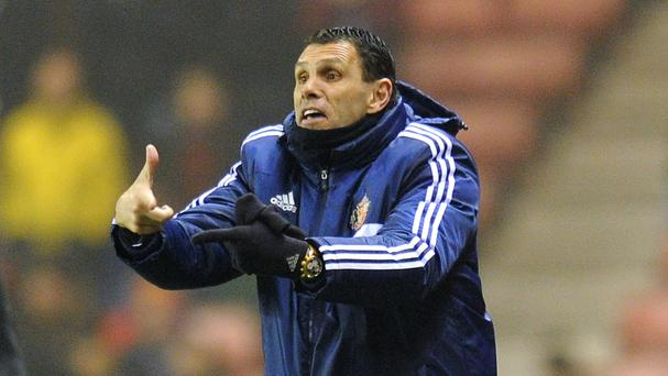 Gus Poyet knows Sunderland face an uphill struggle