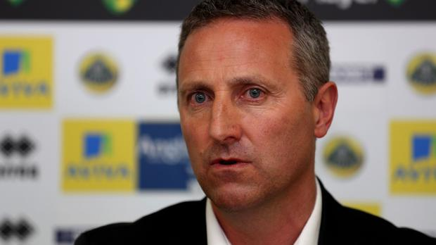 Neil Adams, pictured, has replaced Chris Hughton as Norwich manager
