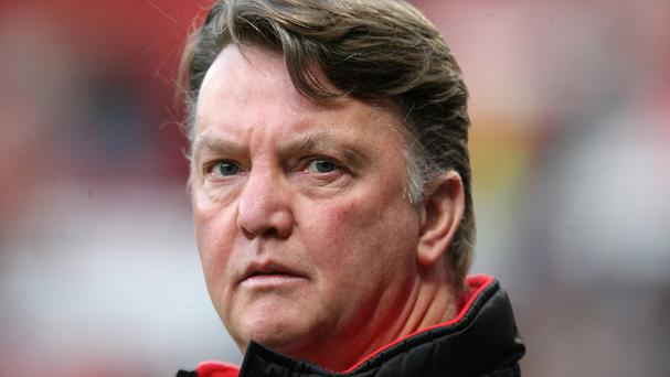 Holland coach Louis van Gaal