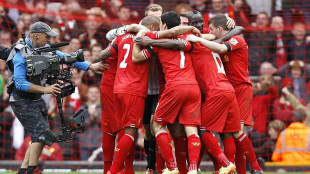 Liverpool are four games from a first title since 1990.