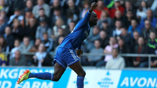 Demba Ba scored another crucial goal for Chelsea