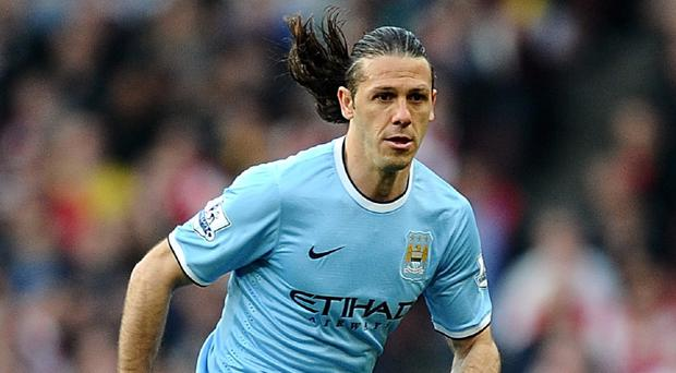 Martin Demichelis £3.5m - Only Fellaini has been the subject of more ridicule than Demichelis in England this season. In truth Demichelis's performances have not been proportionate to the criticism he has received, and the usually brilliant Vincent Kompany has probably made more goal-costing mistakes. Yet for all that, a club like City should probably be signing galacticos, not geriatricos.